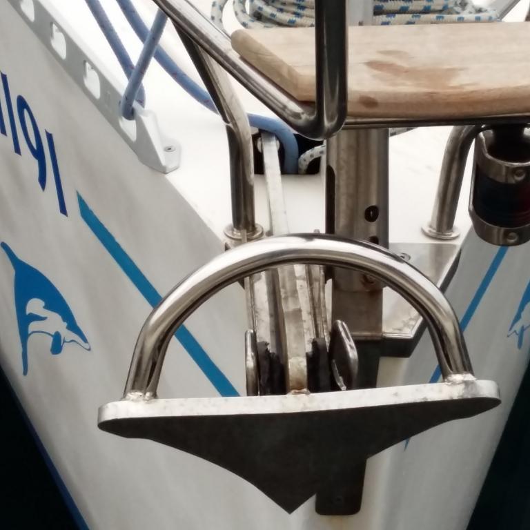 držalo na čolnu